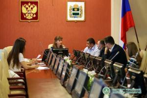 Институт принял участие в заседании Совета молодежного парламента